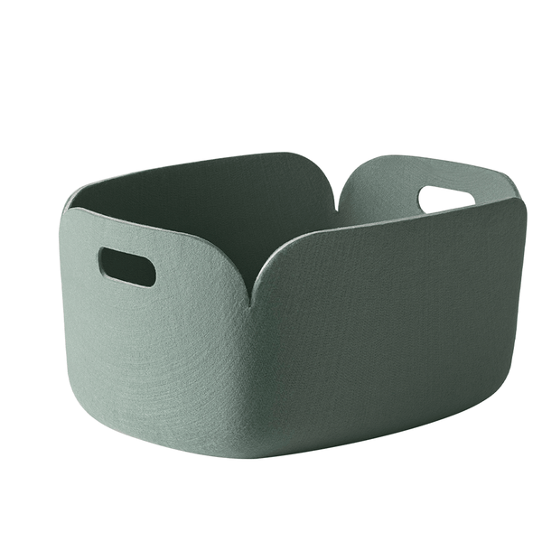 Muuto - Restore Basket - Dusty Green / One Size - Lekker Home
