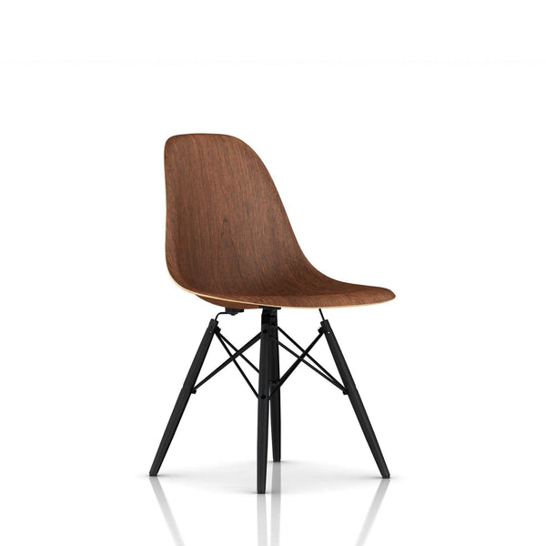 Sensational Eames Molded Wood Side Chair Dowel Base Ocoug Best Dining Table And Chair Ideas Images Ocougorg