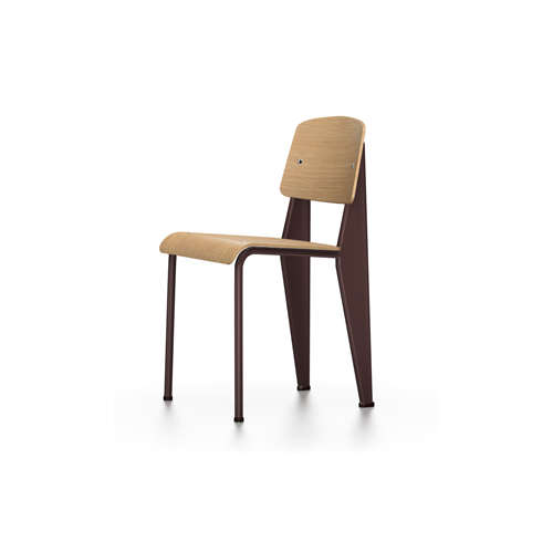 Vitra - Standard Chair - Chocolate / Natural Oak - Lekker Home