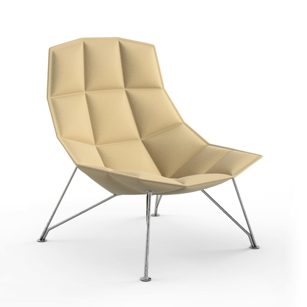 Knoll - Jehs+Laub Lounge Chair - Wire Base - Lekker Home - 2