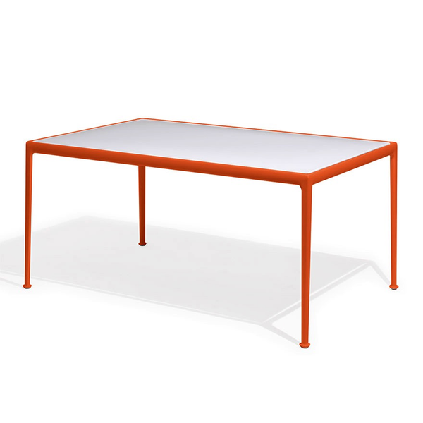 Knoll - 1966 Dining Table - Orange/White / Rectangle - Lekker Home