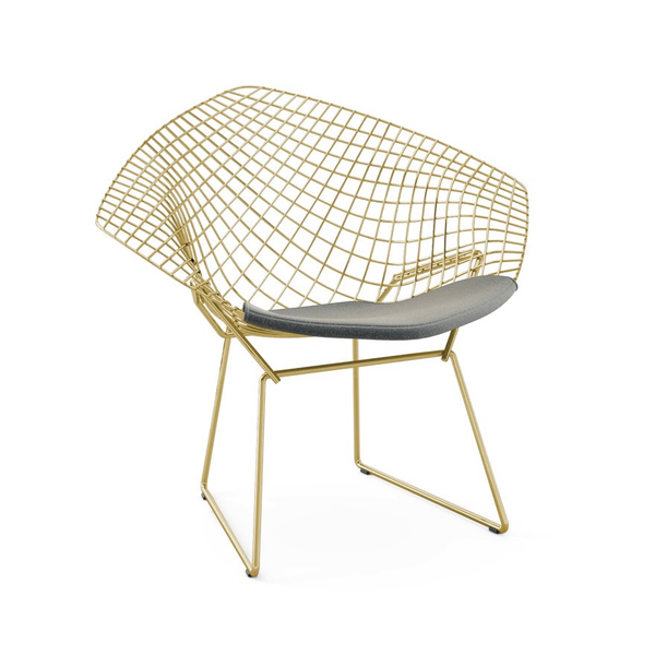 ... Knoll   Bertoia Diamond Chair   Gold   Lekker Home   9 ...