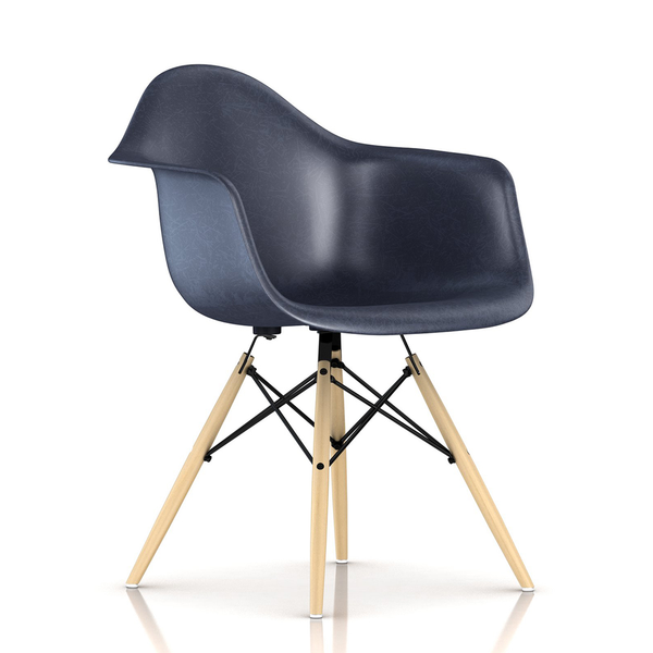 Herman Miller - Eames® Molded Fiberglass Armchair - Wood Dowel Base - Lekker Home - 13