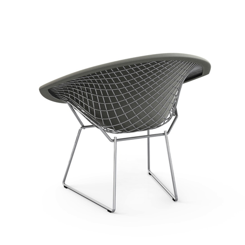 Knoll - Bertoia Diamond Chair with Full Cover - Cayenne Classic Boucle / Polished Chrome - Lekker Home