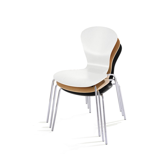 Knoll - Sprite Armless Stacking Chair - Lekker Home - 3