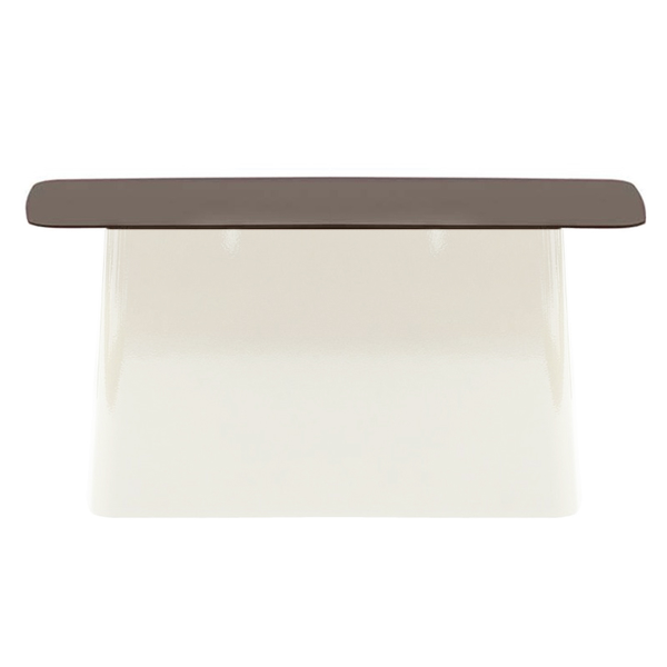 Vitra - Metal Side Table - Chocolate/White / Large - Lekker Home