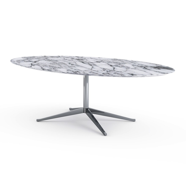 Knoll - Florence Knoll Table Desk Oval - Lekker Home - 7