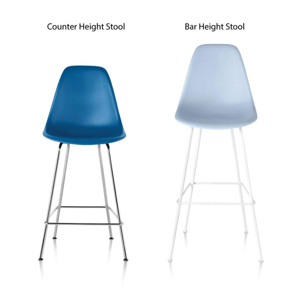 Eames 174 Molded Plastic Bar Stool By Herman Miller Lekker Home