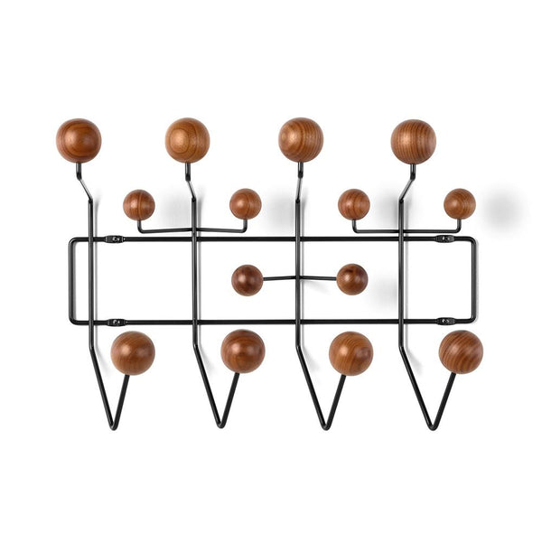 Herman Miller - Eames® Hang-It-All - Black / Walnut - Lekker Home