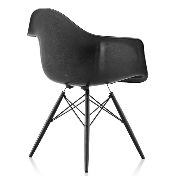 Eames® Molded Fiberglass Armchair - Wood Dowel Base