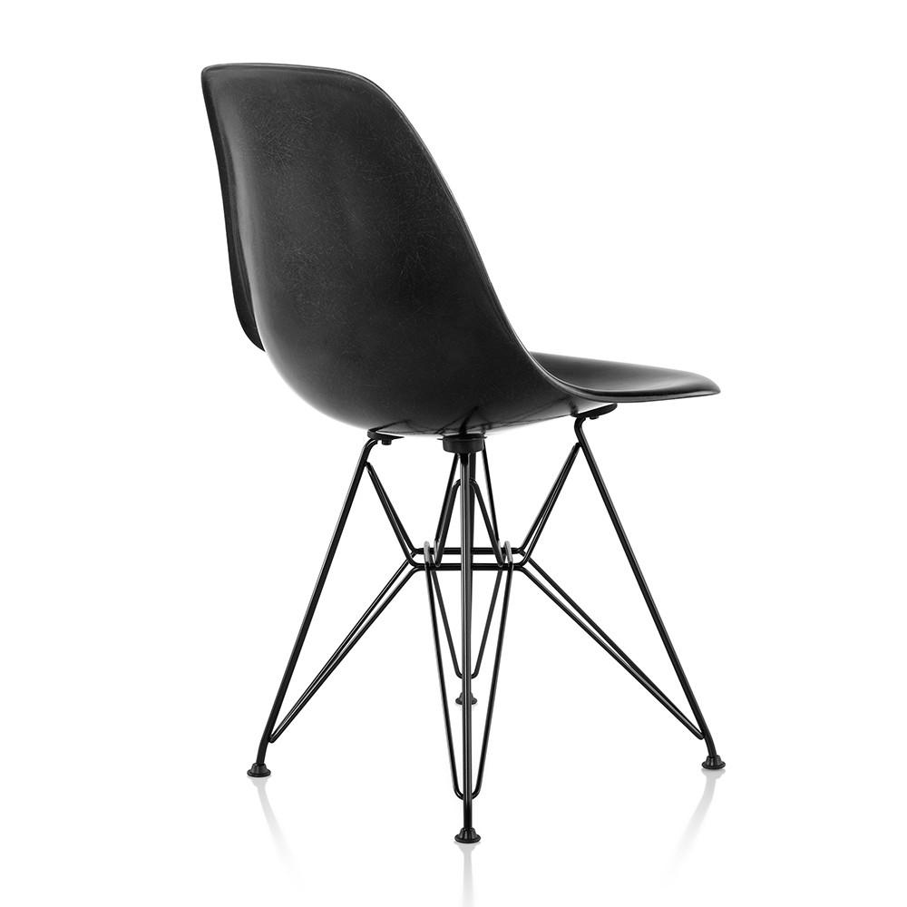 eames molded fiberglass side chair wire base by herman miller lekker home. Black Bedroom Furniture Sets. Home Design Ideas