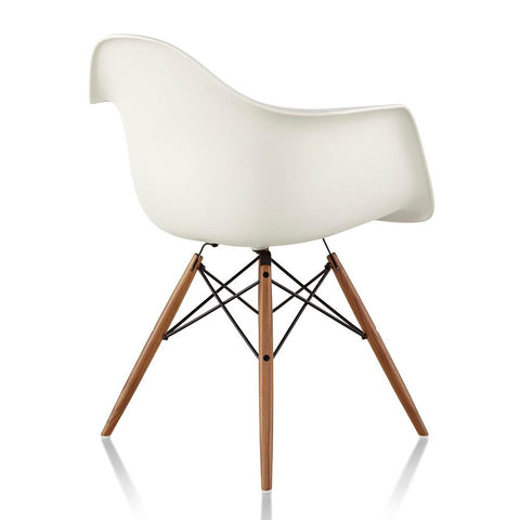 Eames® Molded Plastic Armchair - Wood Dowel Base