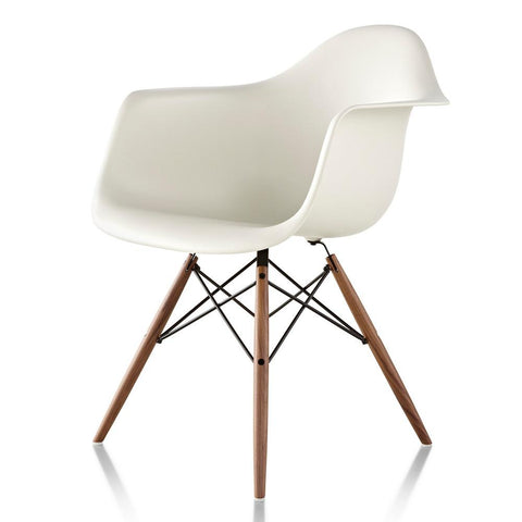 Herman Miller - Eames® Molded Plastic Armchair - Wood Dowel Base - Lekker Home
