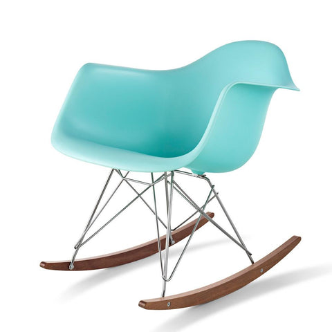 Herman Miller - Eames® Molded Plastic Armchair - Rocker Base - Lekker Home