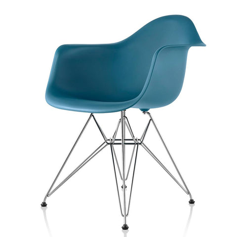 Herman Miller - Eames® Molded Plastic Armchair - Wire Base - Lekker Home