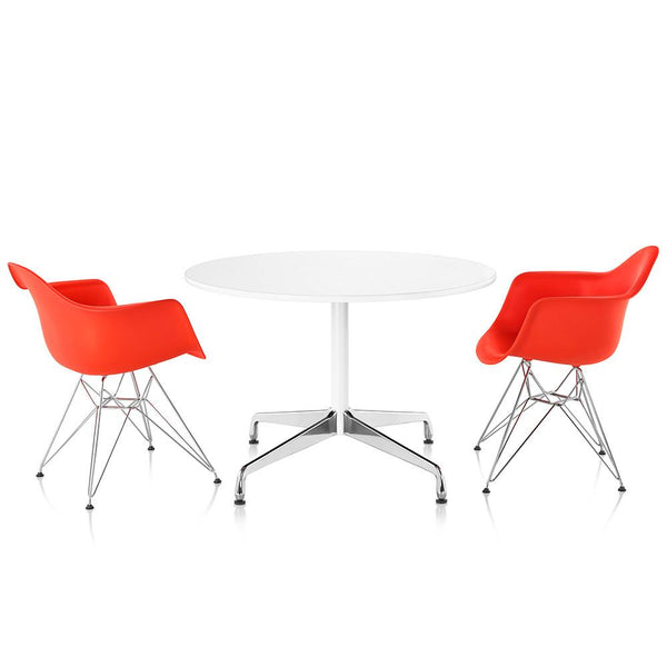 ... Eames® Molded Plastic Armchair   Wire Base ...