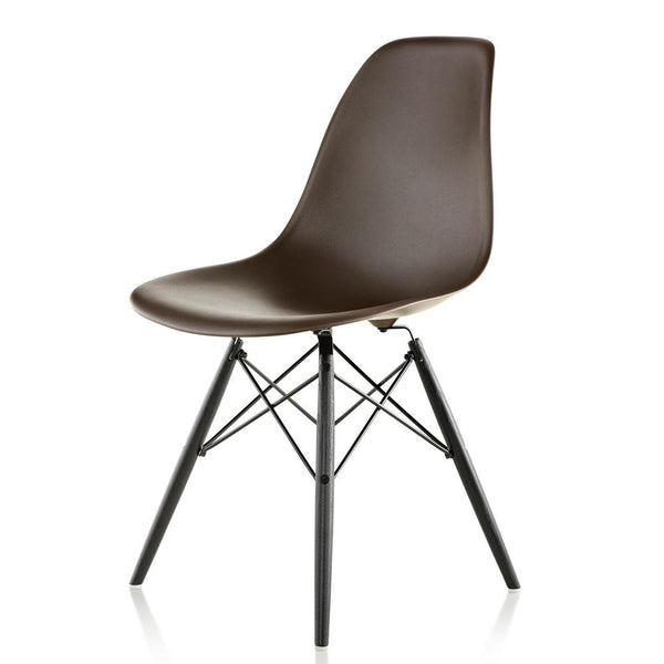Herman Miller   Eames® Molded Plastic Side Chair   Wood Dowel Base   Lekker  Home ...
