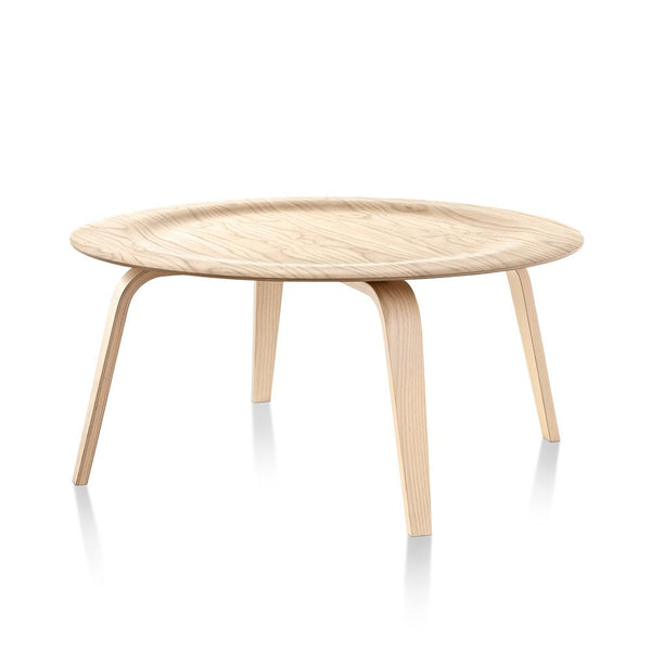 Eames Molded Plywood Coffee Table Wood Base by Herman Miller