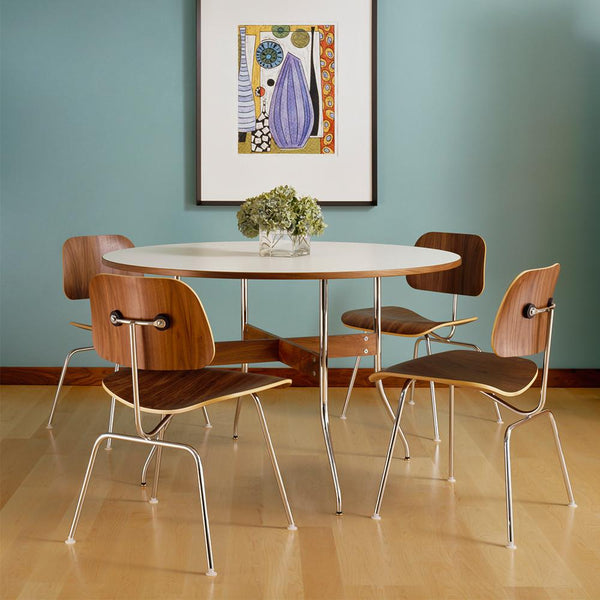 ... Eames® Molded Plywood Dining Chair - Metal Base ...