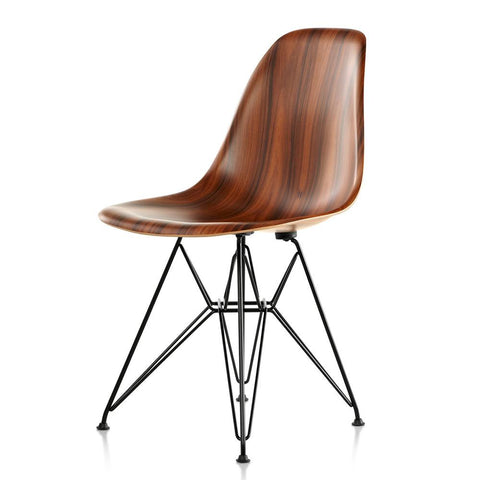 Eames® Molded Wood Side Chair - Wire Base