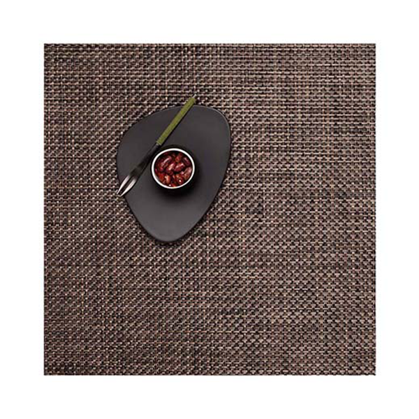 Chilewich - Basketweave Placemat - Earth / Square - Lekker Home