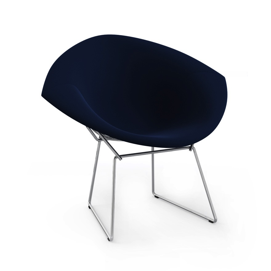 Bertoia Diamond Chair With Full Cover By Knoll Lekker Home