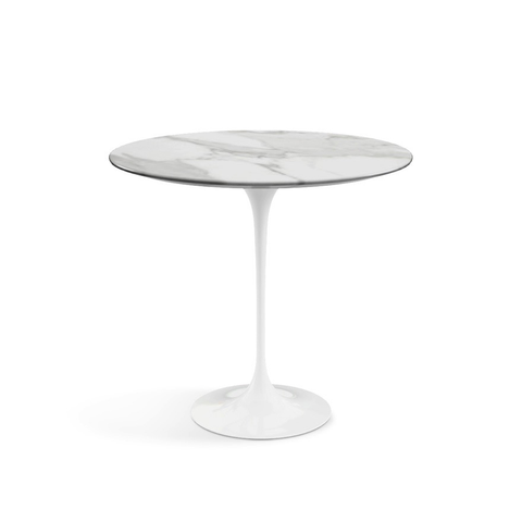 "Knoll - Saarinen Side Table 22"" Oval - Lekker Home"