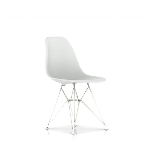 Eames® Molded Plastic Side Chair - Wire Base