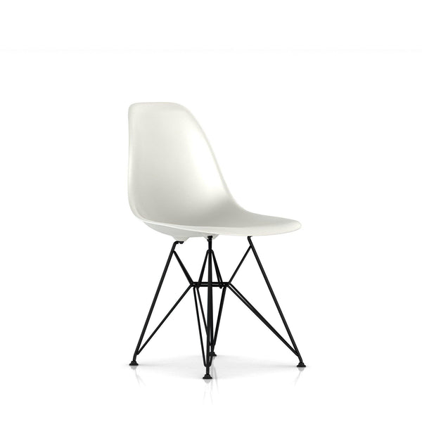 ... Eames® Molded Plastic Side Chair   Wire Base ...