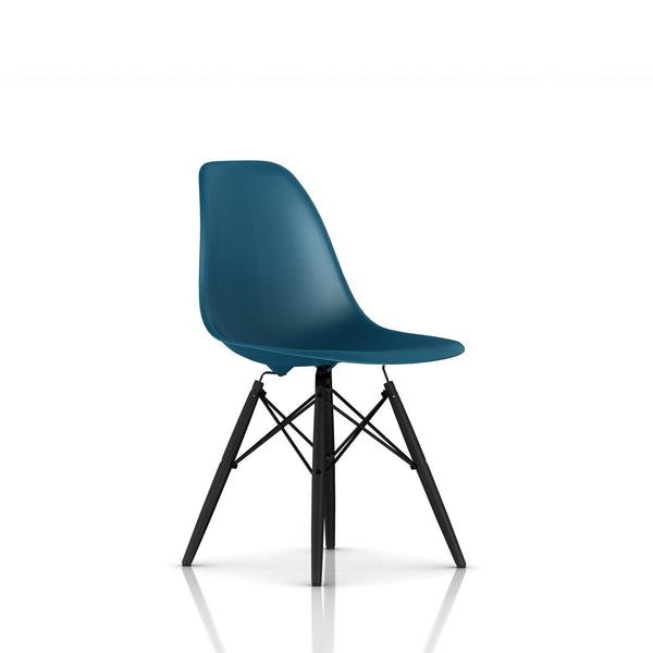 Herman Miller - Eames® Molded Plastic Side Chair - Wood Dowel Base - Lekker Home