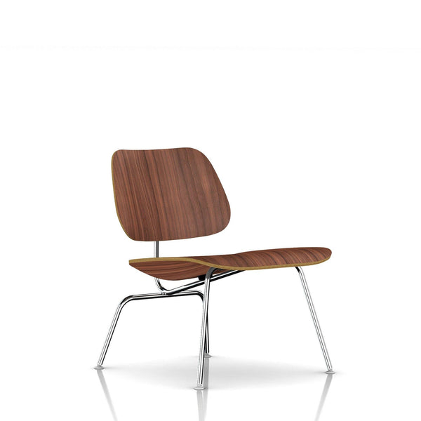 Eames® Molded Plywood Lounge Chair - Metal Base by Herman Miller