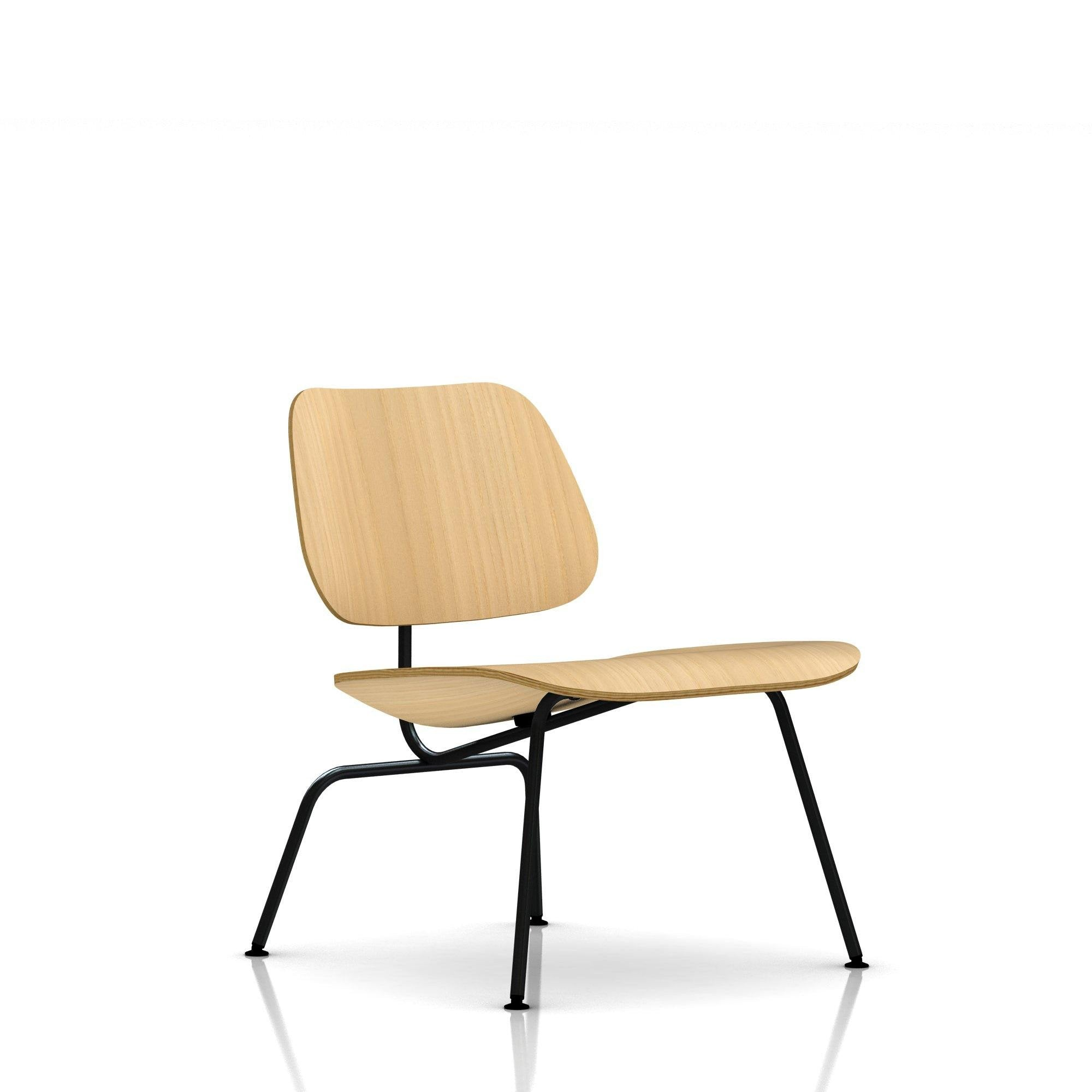 Eames 174 Molded Plywood Lounge Chair Metal Base By Herman