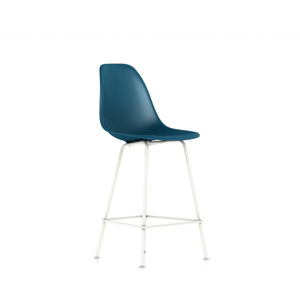 Eames 174 Molded Plastic Counter Stool By Herman Miller