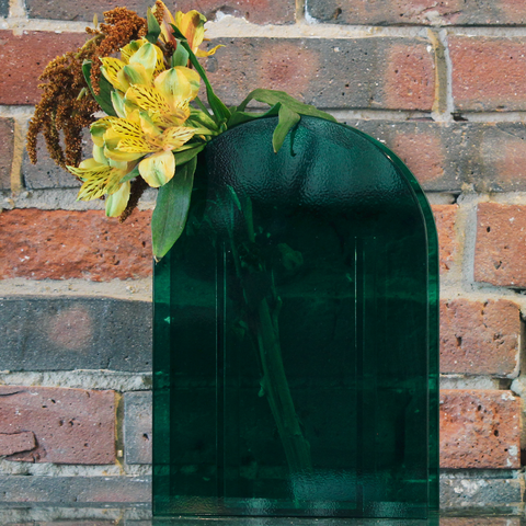 Klevering - Vase Arch Dark Green - - Lekker Home