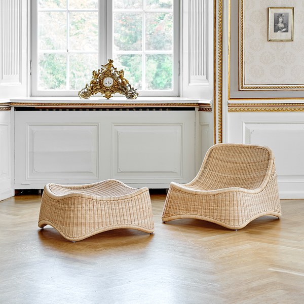 Sika Design - Chill Lounge Chair + Stool - Default - Lekker Home