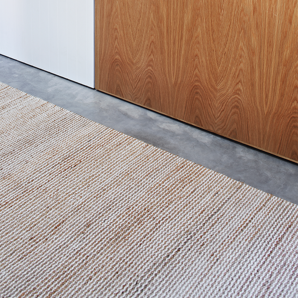 Drift Weave Rug | White & Shale | Armadillo & Co.