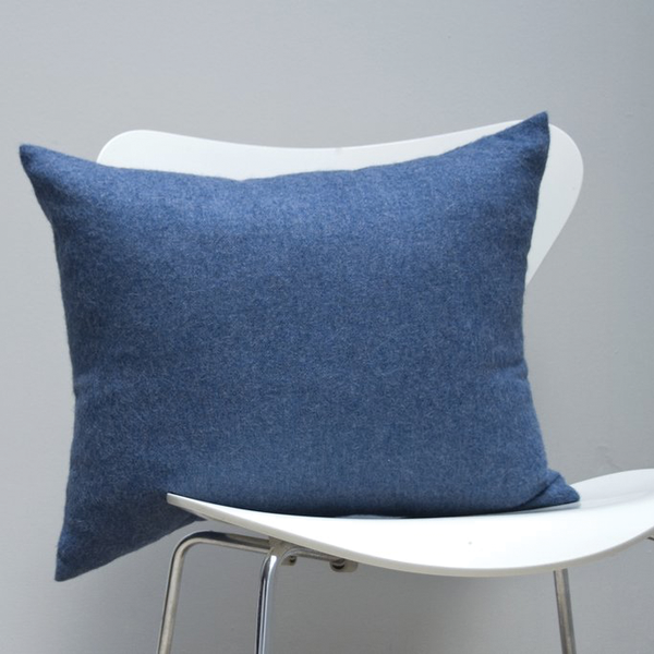 Area Bedding - Liam Decorative Pillow - Blue / One Size - Lekker Home