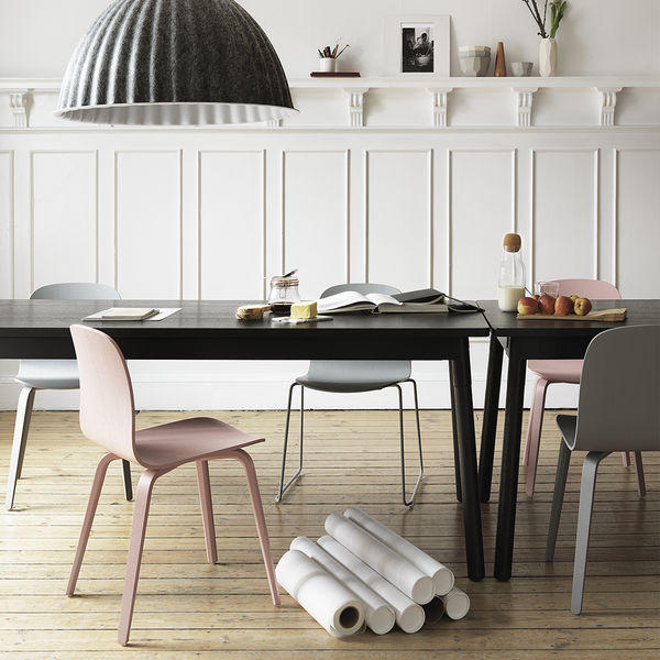 Muuto - Visu Chair - Black / Sled - Lekker Home