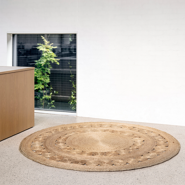 Armadillo & Co - Dandelion Flower Weave Rug - Lekker Home