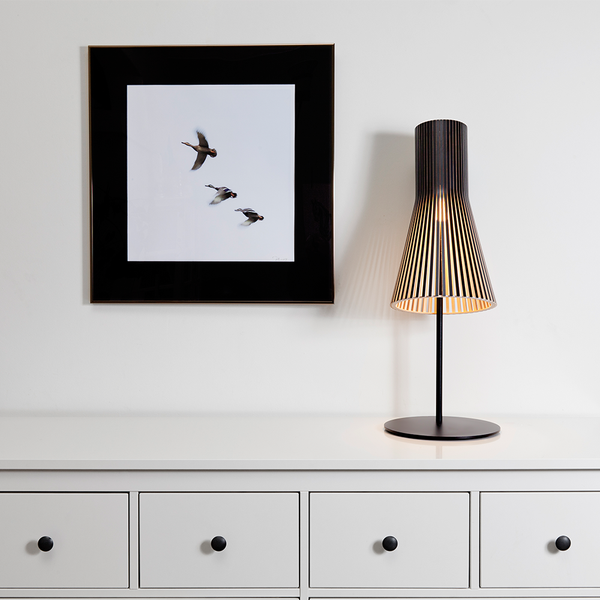 Secto Design - Secto 4220 Table Lamp - Black Laminated / One Size - Lekker Home