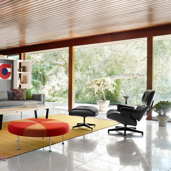 Eames® Tall Lounge Chair and Ottoman
