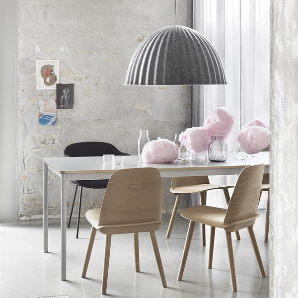 Muuto - Under The Bell Pendant - Grey / One Size - Lekker Home