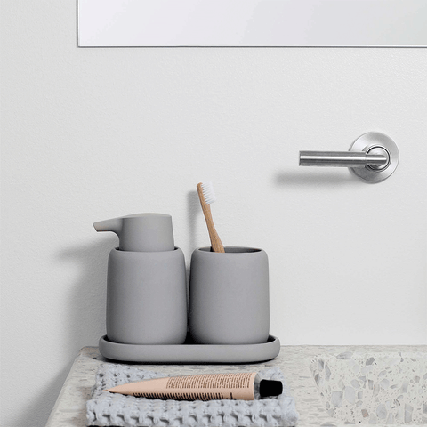 Blomus - Sono Bathroom Tray - Micro Chip / One Size - Lekker Home