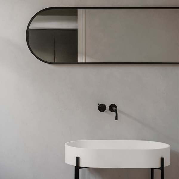 Menu A/S - Norm Oval Mirror - White / One Size - Lekker Home