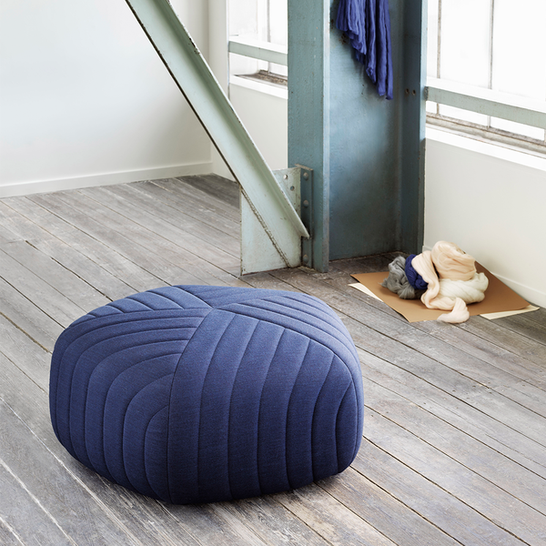 Muuto - Five Pouf - Tangerine / Small - Lekker Home