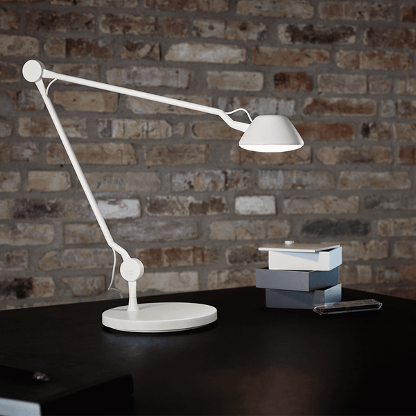 Fritz Hansen - AQ01™ Table Lamp - Blue / Table Base - Lekker Home