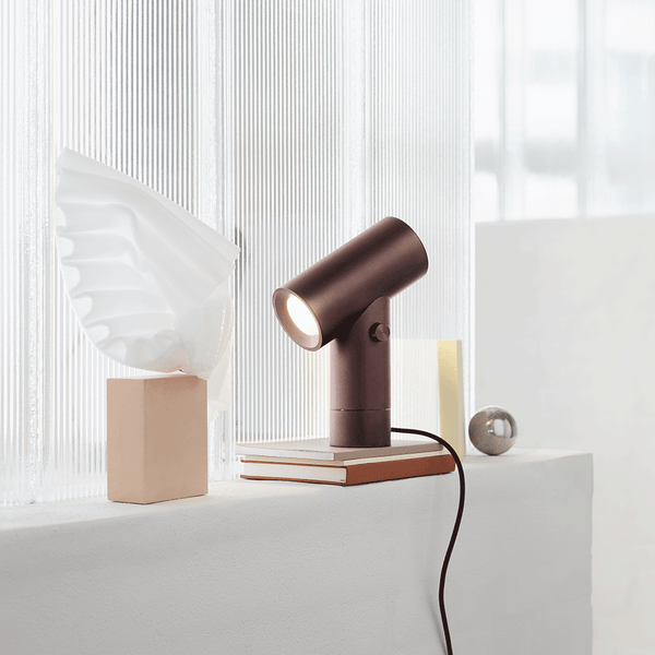 Muuto - Beam Table Lamp - Umber / One Size - Lekker Home