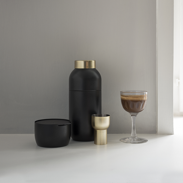 Stelton - Collar Cocktail Shaker & Measuring Cup - - Lekker Home