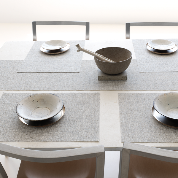Chilewich - Boucle Placemat - Mist / Rectangle - Lekker Home