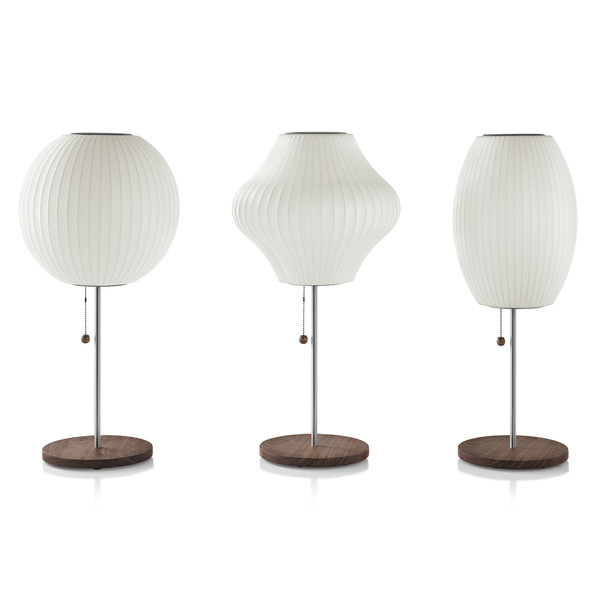 Herman Miller - Nelson™ Pear Lotus Table Lamp - Lekker Home - 3